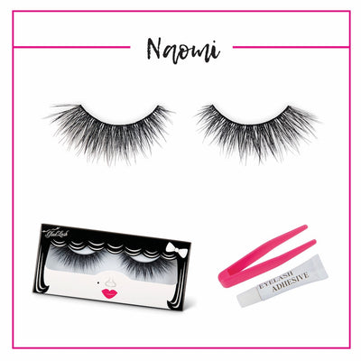 GladGirl 3D False Lash Kit - Naomi