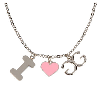 I Love GladGirl Necklace