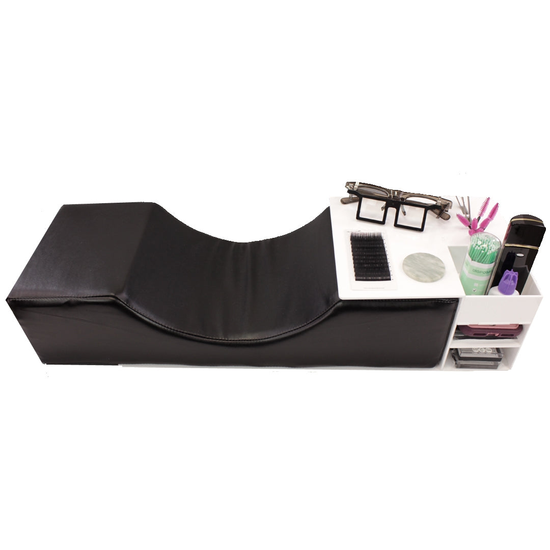 Pillow & Side Table Lash Organizer