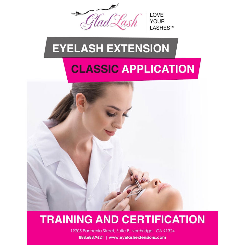 Eyelash Extension Classic Application Training Manual