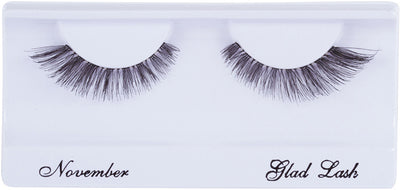 GladGirl False Lashes 6 Pairs - November BULK