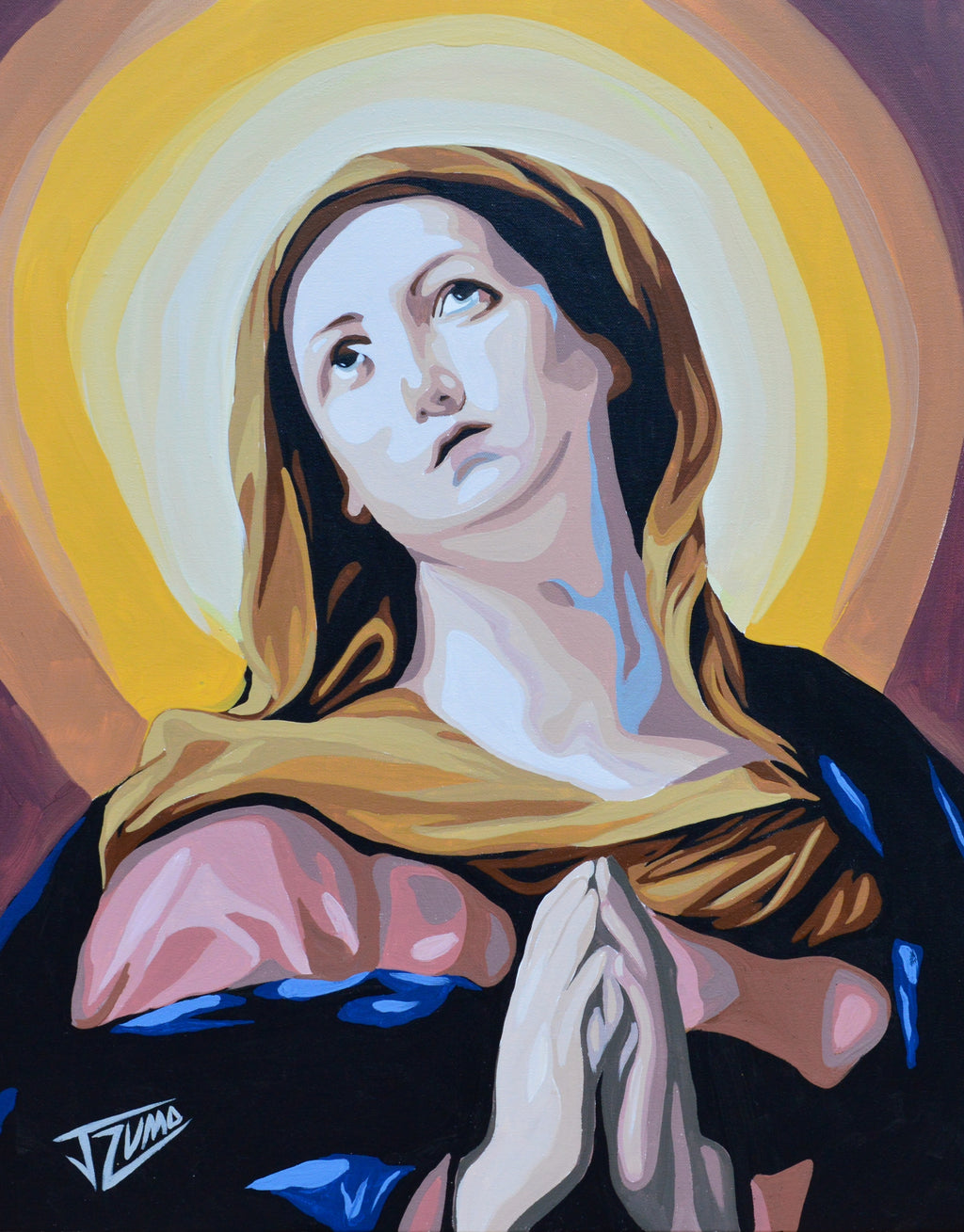 Mary the Blessed Virgin
