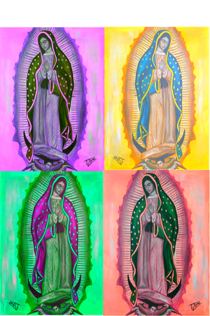 Our Lady of Guadalupe - Spectral Vision 1
