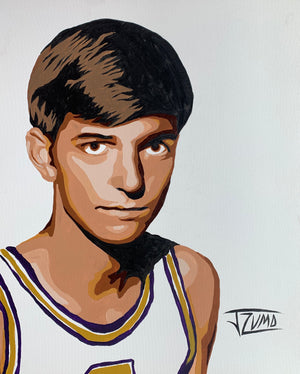 Pistol Pete Maravich - Gold Framed Legend