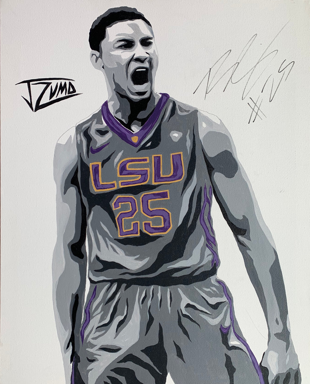 Ben Simmons - Gold Framed Legend