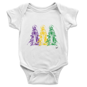 Mother Mary Onesie - Mardi Gras