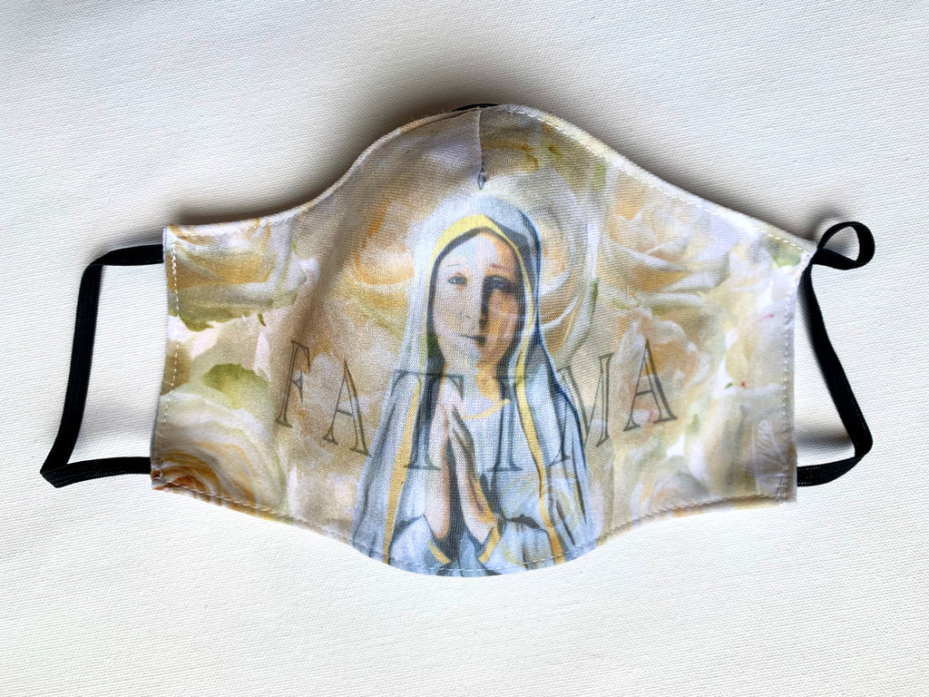 Our Lady of Fatima - Mask