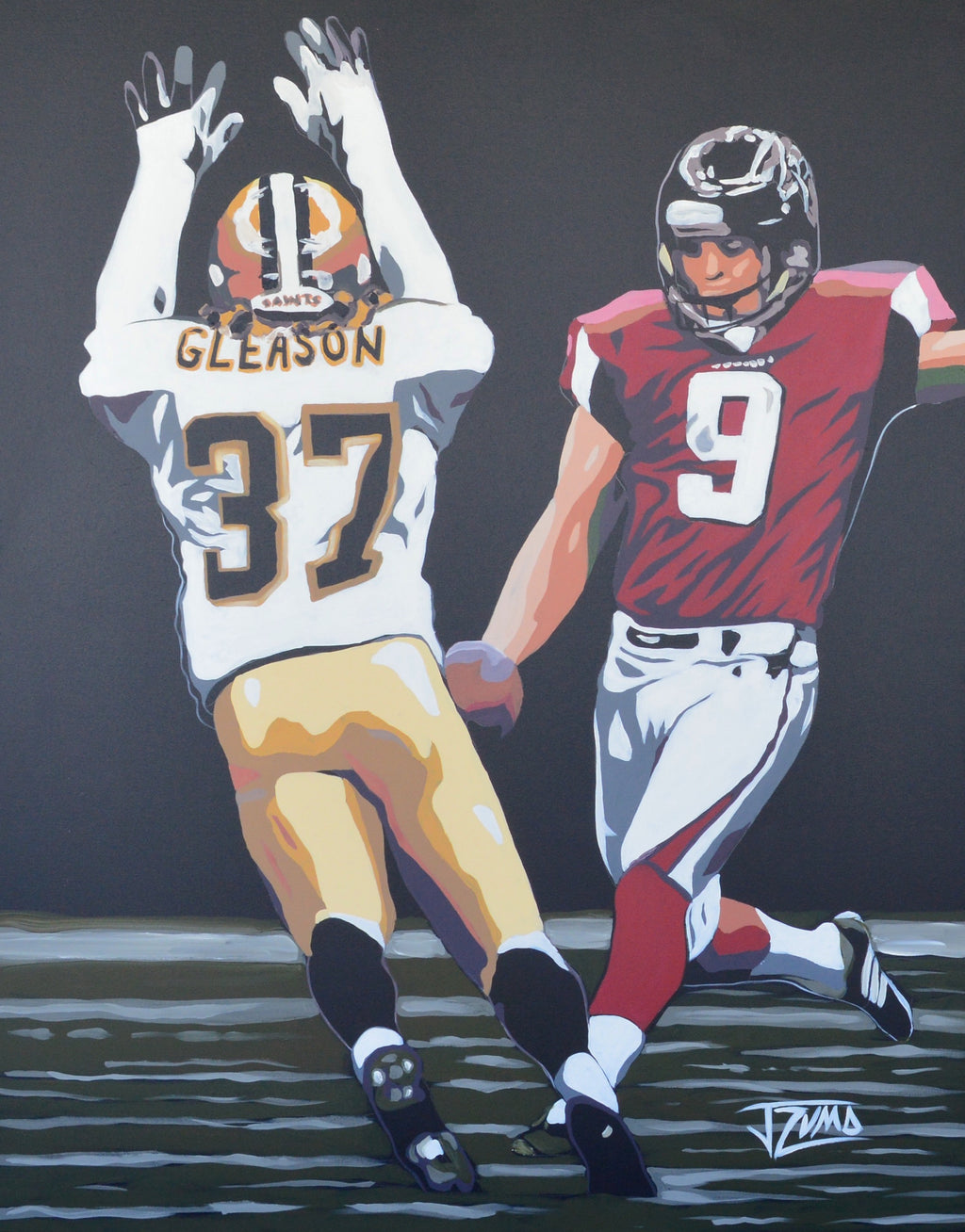 Steve Gleason - The Block