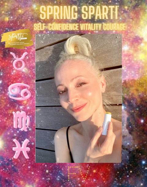 Astrologer,  Francesca Vuilleum & The Global Connections 4 Women Join The Sparti!