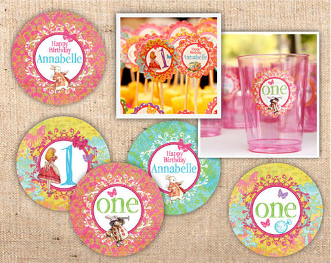 Whimsical Wonderland Custom Party Circles