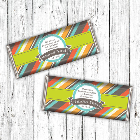 Gentlemans Party Candybar Wrappers