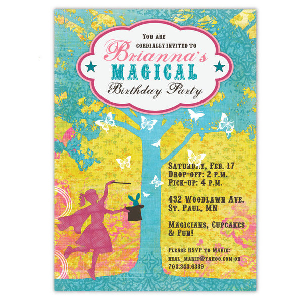 Magical Birthday Invitations (C)