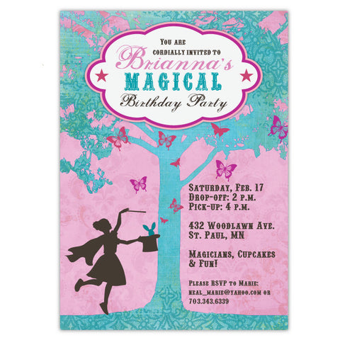 Magical Birthday Invitations (B)