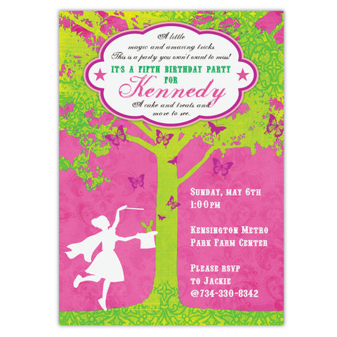 Magical Birthday Invitations (D)