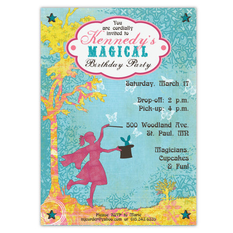 Magical Birthday Invitations (A)