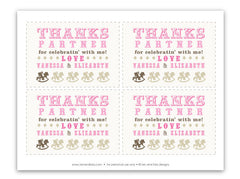 Rocking Horse Cowboy Thank You Notecard (D)
