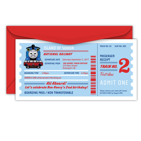 Thomas the Tank Engine Tickets