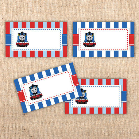 Thomas The Tank Engine Menu Tents (C)