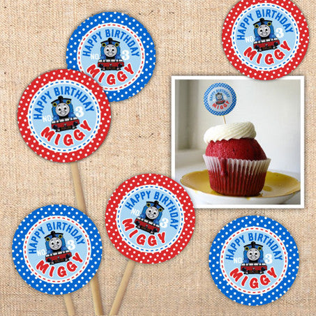 Thomas the Tank Engine Party Circles