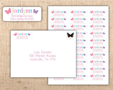 Whimsical Wonderland Address Labels