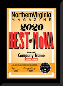 2020  Best of NoVA Readers' Choice