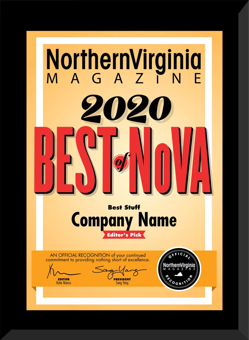 2020 Best of NoVA Editors' Pick