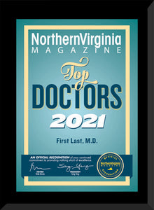 2021 TOP DOCTOR PLAQUE