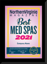 Load image into Gallery viewer, 2021 Best Med Spa/Spa
