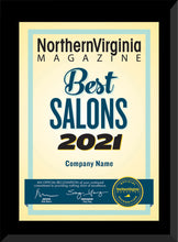 Load image into Gallery viewer, 2021 Best Salon/Best Barber Shop