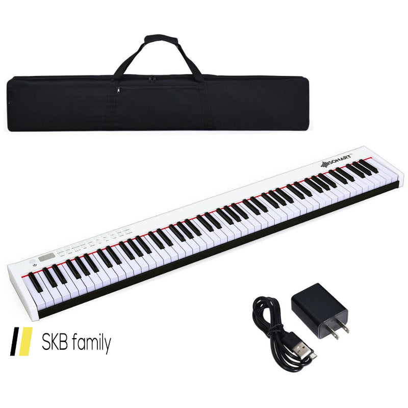 Bx-Ii 88-Key Portable Digital Piano With Bluetooth & Mp3 200815-23768