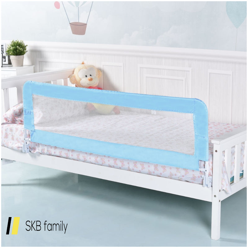 "59"" Breathable Baby Children Toddler Bed Rail 200815-24410"