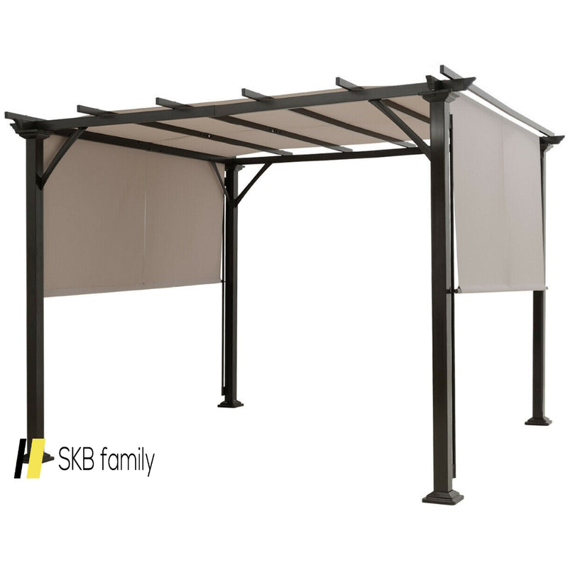 10' X 10' Metal Frame Patio Furniture Shelter 200815-21927