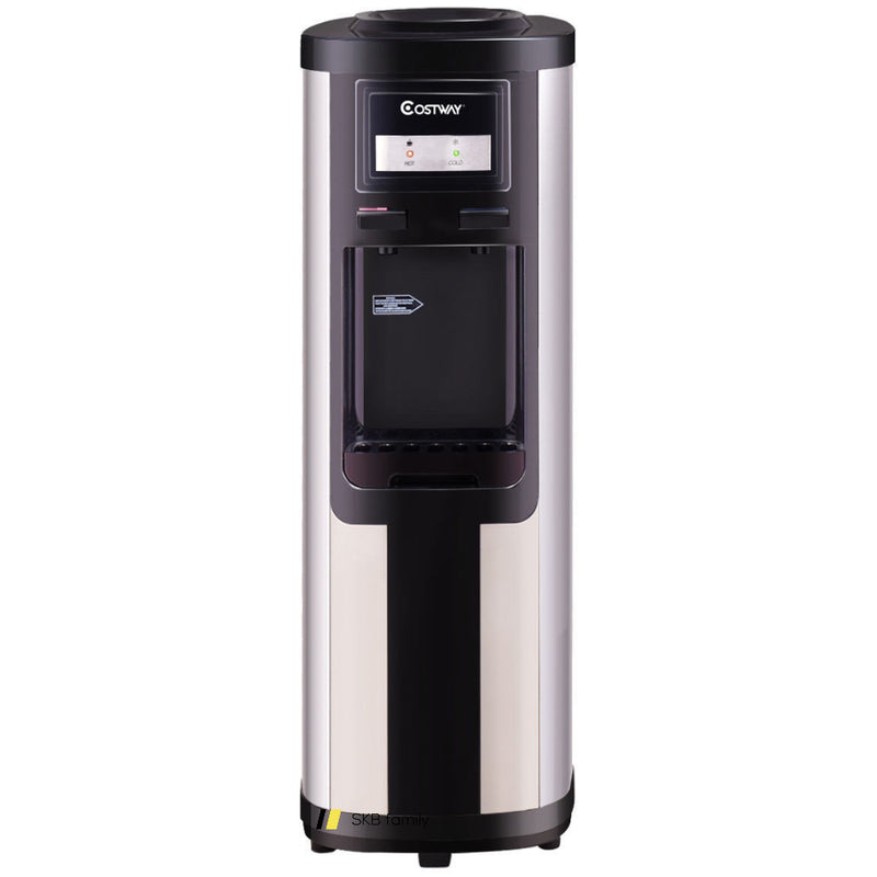 5 Gallon Stainless Steel Cold Hot Water Dispenser 200815-21939