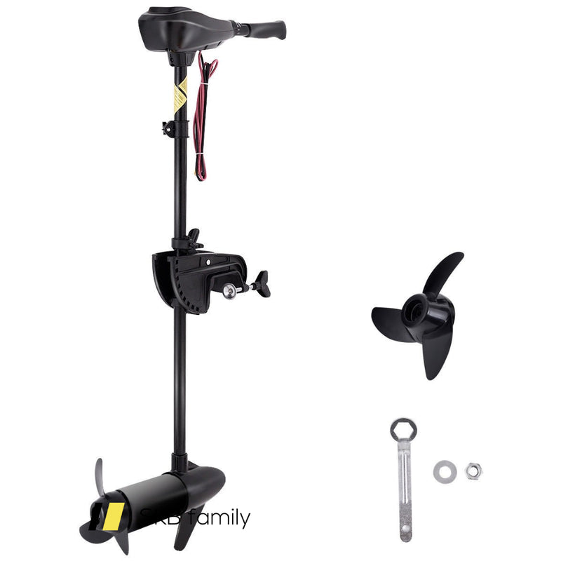 "New 86lbs Freshwater Transom Mounted Trolling Motor 36"" Shaft 200815-21948"