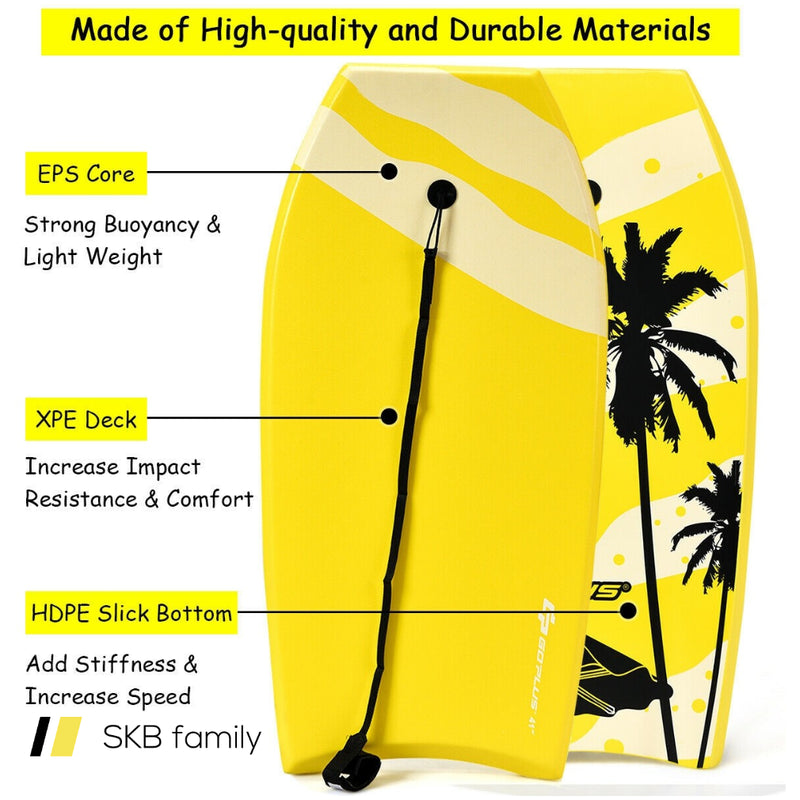 Lightweight Super Bodyboard Surfing With Eps Core Boarding 200815-21953