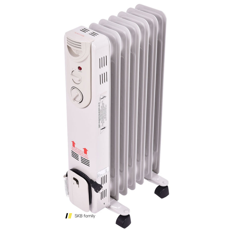 1500 W Electric Oil Filled Radiator Space Heater 200815-21961