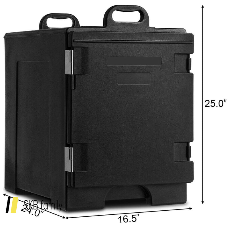 81 Quart Capacity End-Loading Insulated Food Pan Carrier 200815-21976