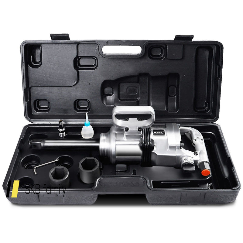 "Heavy Duty 1"" Air Impact Wrench Gun With Case 200815-21989"
