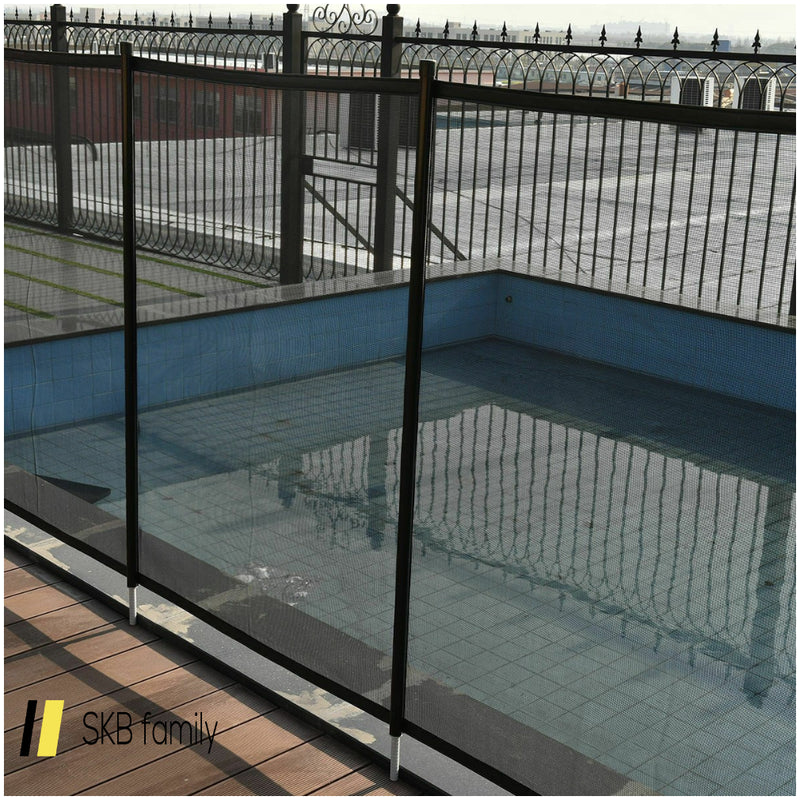 4' X 12' In-Ground Swimming Pool Safety Fence 200815-21992