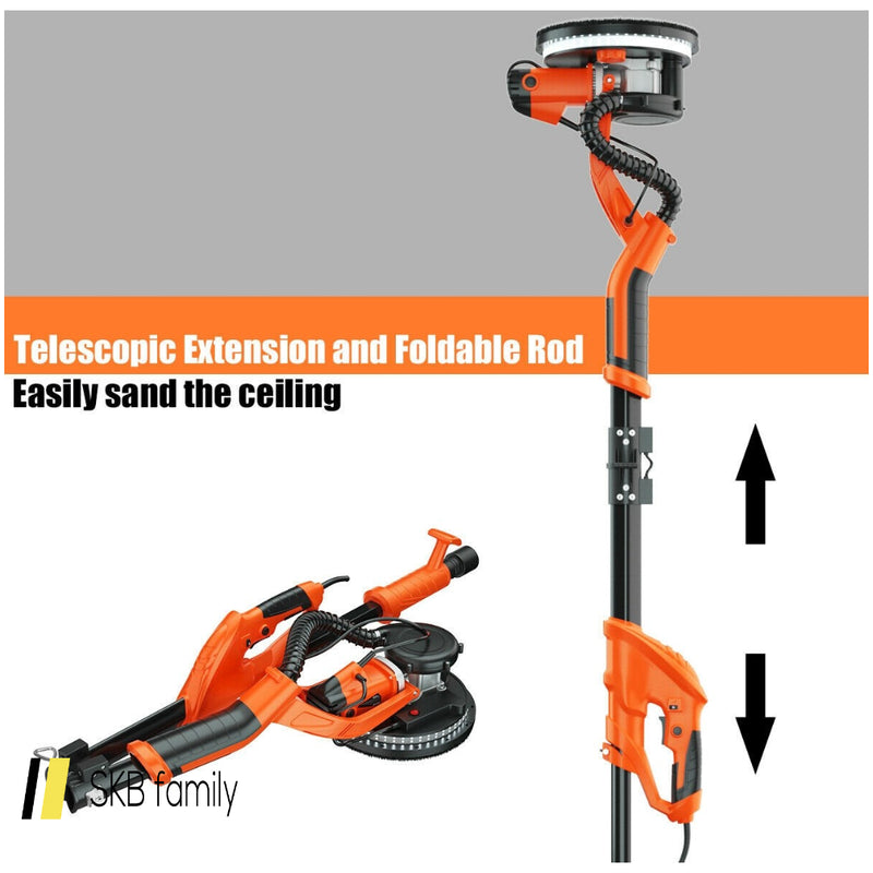 Electric Foldable Drywall Sander 750w Variable Speed 200815-21995