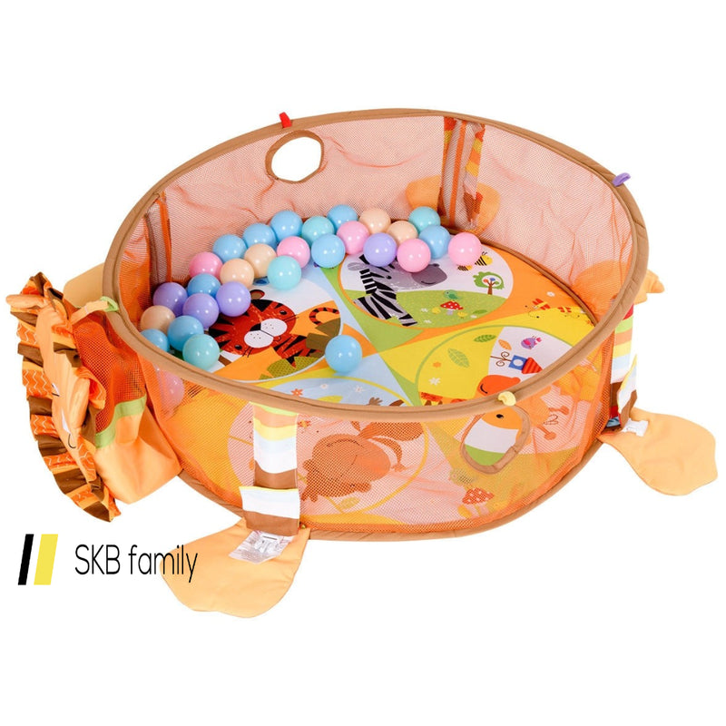 3 In 1 Cartoon Baby Infant Activity Gym Play Mat 200815-22036
