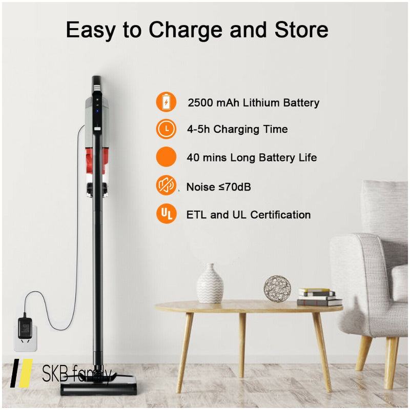 Cordless Lightweight Vacuum Cleaner With Rechargeable Battery 200815-22047