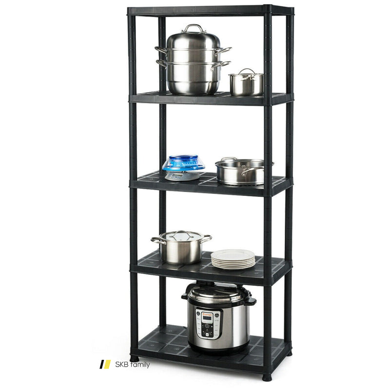 5-Tier Storage Shelving Freestanding Heavy Duty Rack 200815-22088