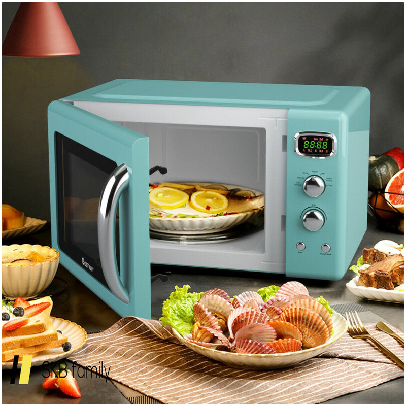 0.9 Cu.Ft Retro Countertop Compact Microwave Oven 200815-22099