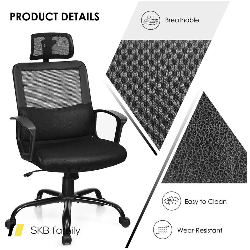 Mesh Office Chair High Back Ergonomic Swivel Chair 200815-22126