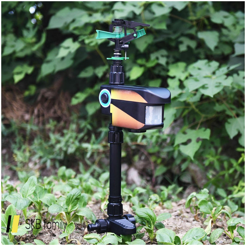 Solar Powered Motion-Activated Animal Repeller 200815-22198
