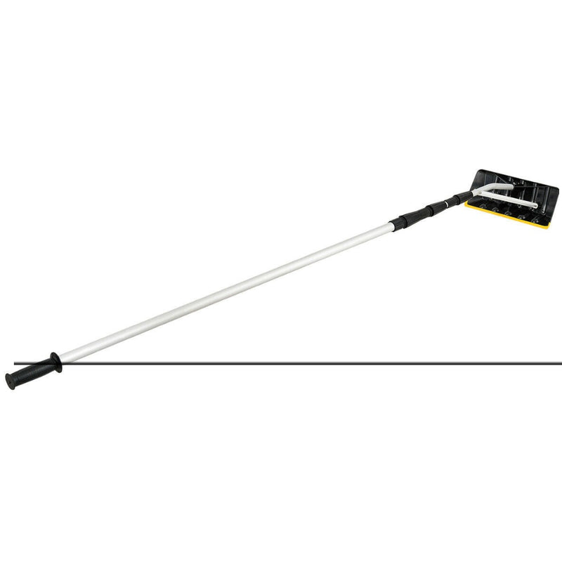 21ft Telescoping Snow Roof Rake Aluminum Tube Non-Slip Handle 200815-22200