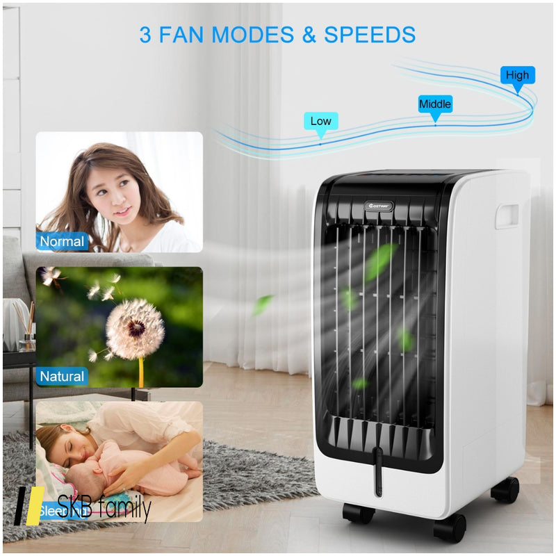 Portable Cooling Touch Pad Remote Evaporative Fan Fan 200815-22222