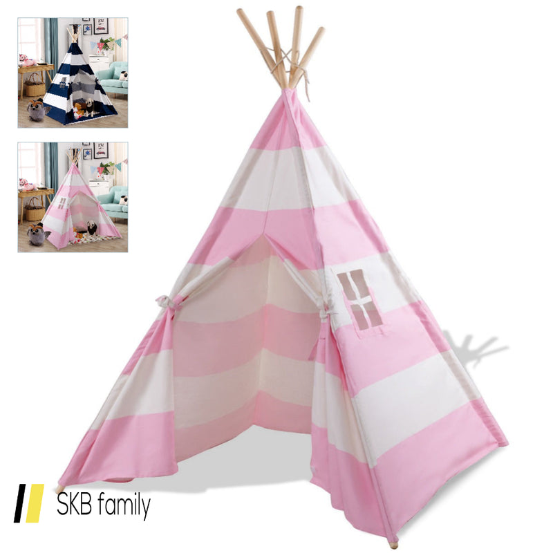 5' Portable Indian Children Sleeping Dome Play Tent 200815-22241