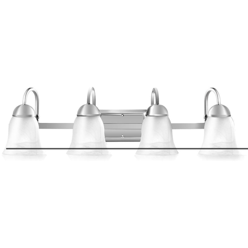 Bath Light 4-Light Led Brushed Nickel Vanity 200815-22257